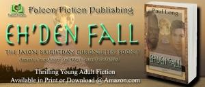 Eh'den Fall Book Ad